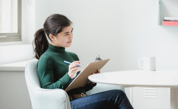 its the new normal, stop making these hiring mistakes, woman conducting an interview in the candidate job market, hiring, staffing agency, hiring help for employers, interviewing tips, hiring pipeline support and help from recruiting experts, find best staffing agency near me, bridge personnel services